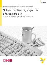 Schlaf- und Beruhigungsmittel am Arbeitsplatz - Deutsche ...