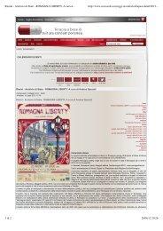 Rimini - Archivio di Stato - ROMAGNA LIBERTY. A ... - Andrea Speziali