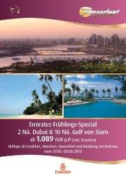 2 Nächte Dubai & 10 Nächte Golf von Siam