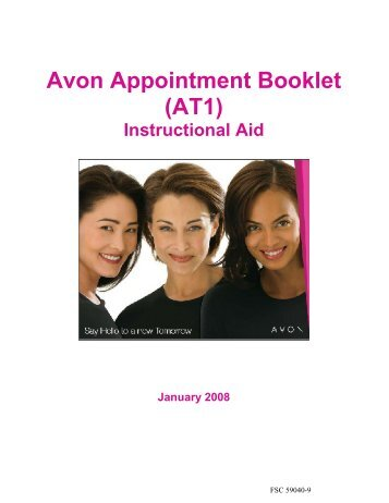 Avon Appointment Booklet (AT1)