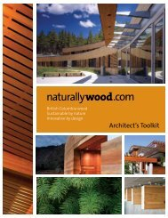 Architect's Toolkit - Naturally:wood