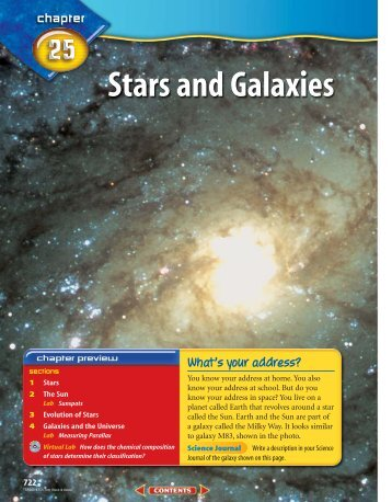 Chapter 25: Stars and Galaxies - McGraw-Hill Higher Education