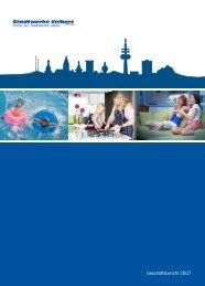 Geschäftsbericht für das Jahr 2007 - Stadtwerke Velbert