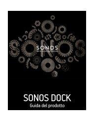 SONOS DOCK - Almando