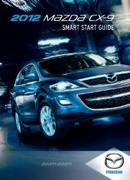 2012 CX-9 Smart Start Guide - Mazda
