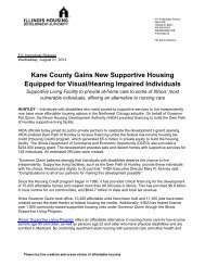 Kane County Gains New Supportive Housing Equipped for Visual ...