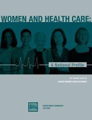 Women and Health Care - The Henry J. Kaiser Family Foundation
