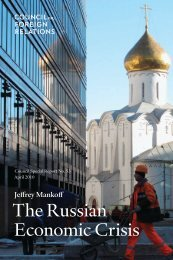 The Russian Economic Crisis - Council on Foreign Relations