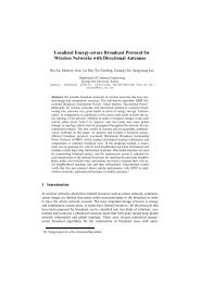 Localized Energy-aware Broadcast Protocol for Wireless Networks ...