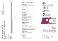 Infos finden Sie im Flyer zur Veranstaltung (PDF-Download). - BGW ...