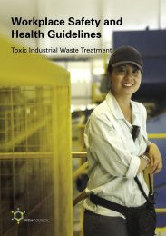 Toxic Industrial Waste Treatment - Workplace Safety and Health ...