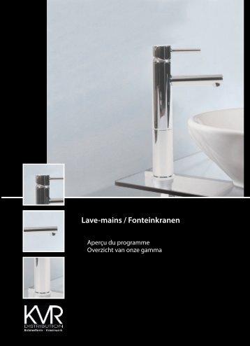 Lave-mains / Fonteinkranen - KVR