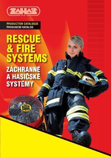 RESCUE & FIRE SYSTEMS - Zahas sro