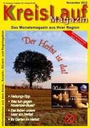 Oktober 2012 Informationen aus dem Aisch ... - KreisLauf Magazin
