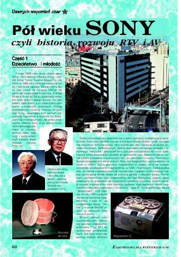 historia rozwoju RTV i AV, cz. 1 - Elportal