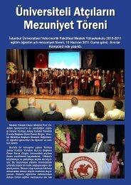 İstanbul Üniversitesi Veterinerlik Fakültesi Meslek ... - LiderForm