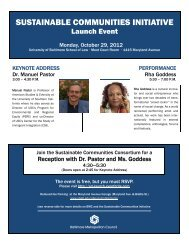 Sustainable Communities Launch Event - Associated Black Charities