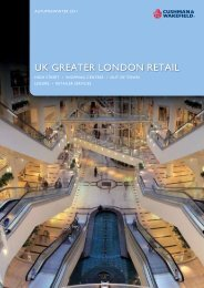 UK GREATER LONDON RETAIL
