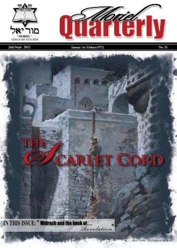 The Scarlet Cord - Moriel Ministries