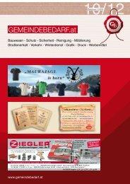 aktueller Katalog - gemeindebedarf.at