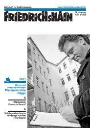 6 5 Missbrauch ohne Folgen 10-13 - Friedrichshain Magazin