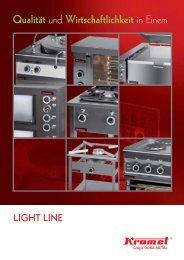 LIGHT LINE Qualität - Kromet