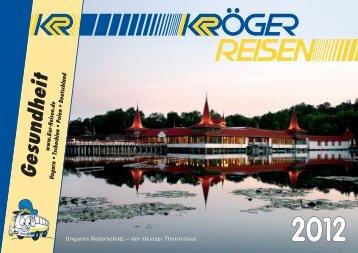 Kurreisen Katalog 2012 (4,1 MB) - Kröger-Reisen