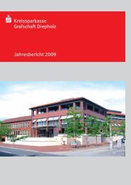 Jahresbericht 2009.indd - Kreissparkasse Grafschaft Diepholz
