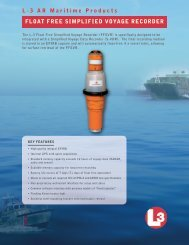 Float Free Simplified Voyage Recorder - L-3 Aviation Recorders
