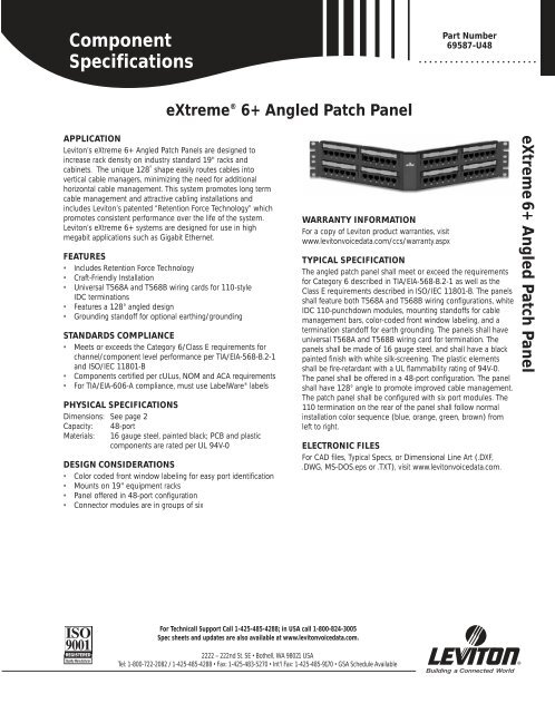 Component Specifications 3880-DIN - Accu-Tech