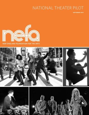 national theater pilot - New England Foundation for the Arts