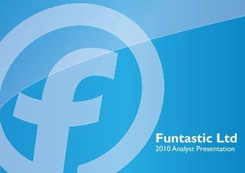 2010 Analyst Presentation.ai - Funtastic