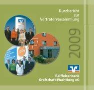 Kurzbericht 2008.pdf - Raiffeisenbank Grafschaft-Wachtberg eG