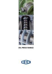 oil press range