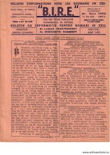 BIRE NR. 208 - arhivaexilului.ro