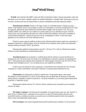 Despre Disney.pdf - Mobila living , mobila camera copil 44style