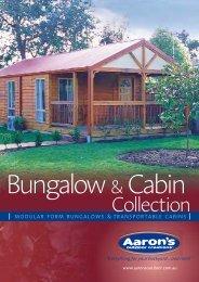 Bungalows & Cabins Brochure - Backyard Inspirations