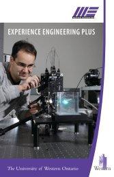 ExpEriEncE EnginEEring Plus - Western Engineering - University of ...