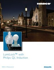 LumiLock™ with Philips QL Induction - Hadco