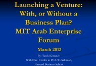 Business Plans: How to write a winning script - MIT :: Enterprise ...