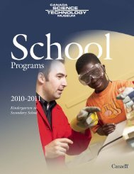 School Programs 2010-2011