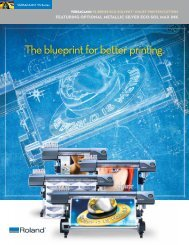 a .pdf brochure - Support - Roland DGA Corporation