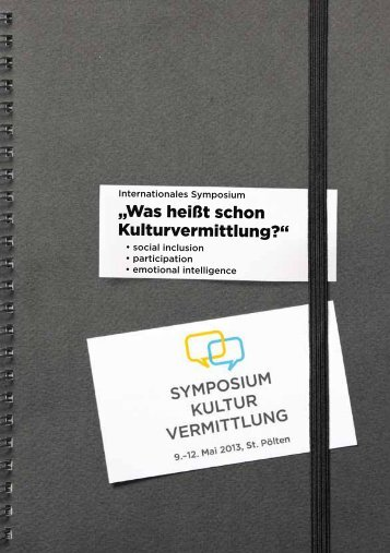 """Was heißt schon Kulturvermittlung?"" - kulturvermittlung.net"