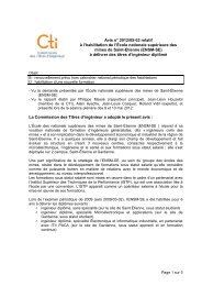 ENSM-SE - Commission des Titres d'Ingénieur