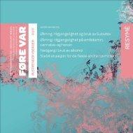 Her kan du lese resymeet fra føre Var våren 2011 - KoRus Bergen
