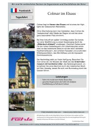 1 Tag - 3 Vorschläge - hehle-reisen.com