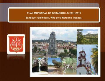 PLAN MUNICIPAL DE DESARROLLO 2011-2013 Santiago ...