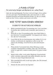 Wie tötet man einen Verein - Ruder-Gesellschaft Lauenburg
