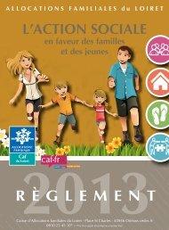 L'action sociale 2013 - Caf.fr