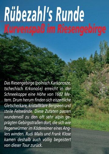 Das Riesengebirge (polnisch Karkonosze ... - Hotel Riedel